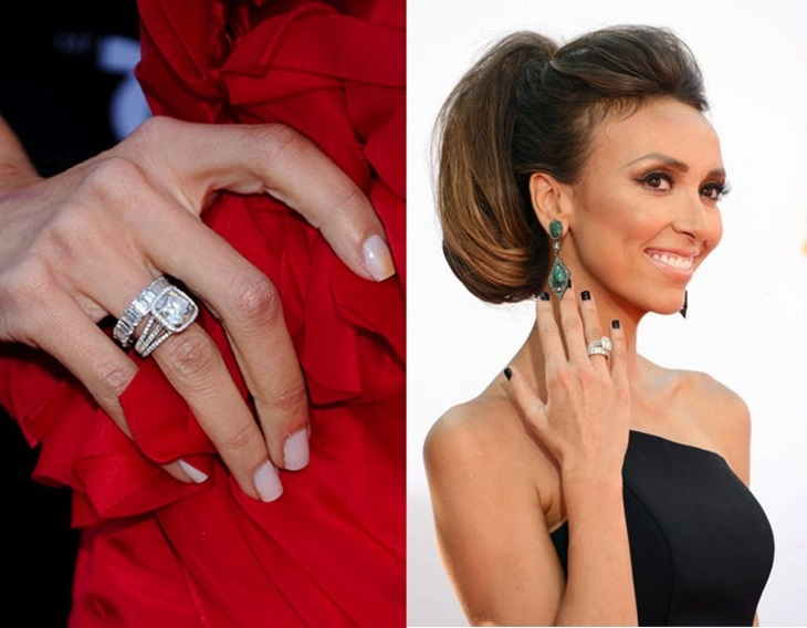 celebrity big engagement rings