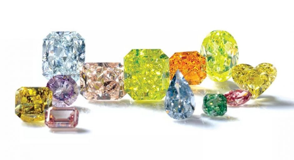 fancy color diamonds treated